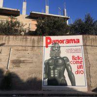 Reggio - Ecco 'Panorama', il nuovo wall painting in città - FOTO