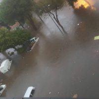 Reggio - Maltempo, torna la 'piscina naturale' in zona Stadio - FOTO