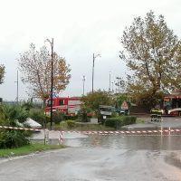 Reggio - Maltempo, bloccata la strada di accesso all'aeroporto - FOTO