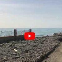 Bova Marina, le immagini del lungomare distrutto
