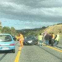 Reggio, incidente in autostrada causa disagi alla circolazione