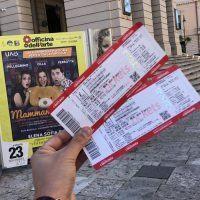 Vinci 2 biglietti per il teatro. Nuovo contest CityNow & Officina dell'arte