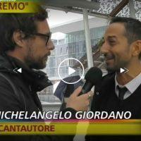 Striscia la notizia indaga su Sanremo: l'intervista al reggino Michelangelo Giordano - VIDEO