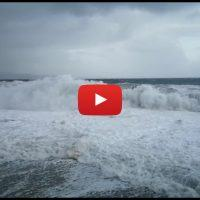 Maltempo in Calabria: violenta mareggiata a Bagnara