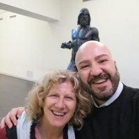 Reggio, Angela Finocchiaro in visita al Museo Archeologico
