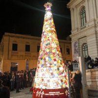 Reggio - Accensione albero AIL, Falcomatà: