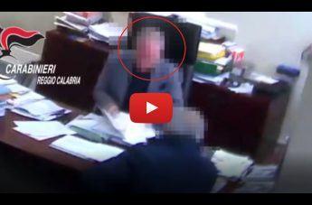 Reggio - Operazione 'Gattopardo': le immagini dell'imprenditore arrestato