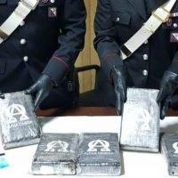 Villa San Giovanni, i Carabinieri li sorprendono con oltre 5kg di cocaina: due arresti