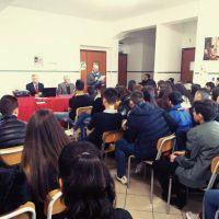 Luca Desiato ha incontrato gli studenti liceali suscitando grande interesse