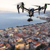 Emergenza Coronavirus a Reggio, drone della Polizia Locale in azione