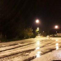 Reggio, grandine e piogge torrenziali alla Vigilia di Natale - FOTO