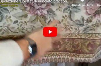 Operazione Libertà, il video del sequestro dei volatili