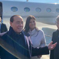 Calabria, arriva Berlusconi: 'Qui clima fantastico. Sarà perla del turismo'