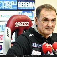 Vivarini: 'Se la Reggina vince tutte le partite dobbiamo farle i complimenti'