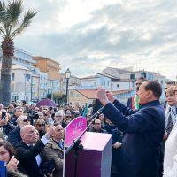 Regionali Calabria, Berlusconi a Tropea: 'La Santelli non me l'ha mai data' - VIDEO
