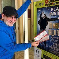 Flavio Insinna a Reggio Calabria: gratis a teatro con CityNow e l'Officina dell'arte