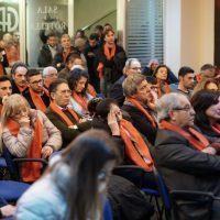 Regionali Calabria - Le sciarpe rosse di Pippo Callipo: 'Rivoluzione e amore per una nuova Calabria'