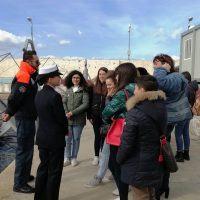 Reggio, gli alunni del 'Gulli' e del 'Volta' a scuola dalla Guardia Costiera