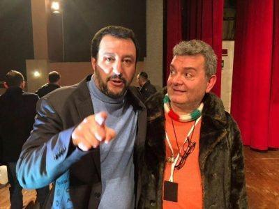 Matteo Salvini Nino Spirlì