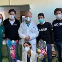 Reggio, Confcommercio Giovani dona uova di Pasqua ai piccoli pazienti del GOM: 'Siete i nostri eroi'