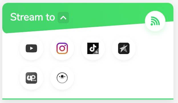 Social network di destinazione di Loola.tv per dirette da Pc