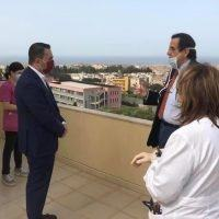 Cannizzaro in visita all'Hospice: 'Presto dalla Regione soluzioni definitive'