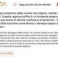 Calabria terra di mafia e terremoti. La descrizione 'shock' di EasyJet