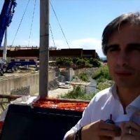 Il waterfront prende forma: lavori di posa del ponte tra porto e lungomare - VIDEO