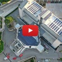 Crollo palazzo Campanella: il video del disastro