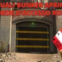 Warzone: quali Bunker aprire con le Schede d'accesso Rosse