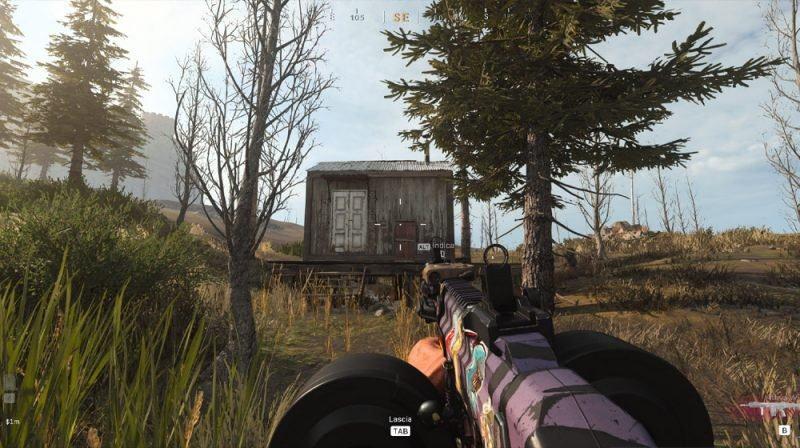 Casa Segreta H8 Prigione Zordaya Warzone