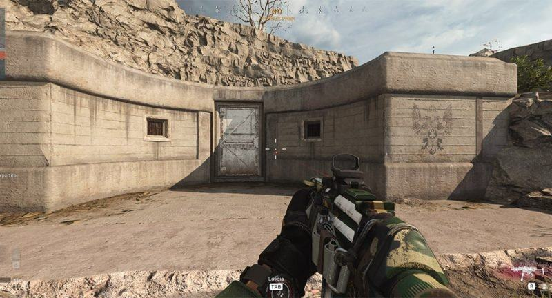 Warzone Ingresso Bunker Nucleare F8 zona Parco