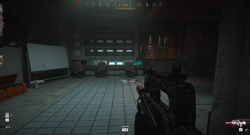 Warzone Sala Bunker Nucleare F8 della zona Parco