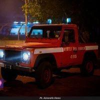 ANAS, incendio in provincia di Reggio: chiuso un tratto della SS 106