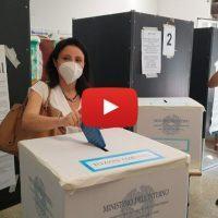 Comunali Reggio: il voto di Angela Marcianò