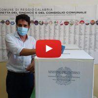 Comunali Reggio: il voto di Saverio Pazzano