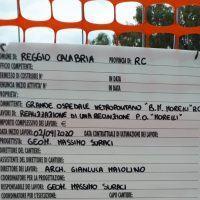 Reggio, lavori al Morelli: la segnalazione del candidato Simone