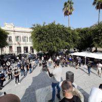 Nuovo Dpcm, a Reggio la protesta del mondo dello sport. Eraclini: 'Siamo al collasso, è una catastrofe' - FOTO