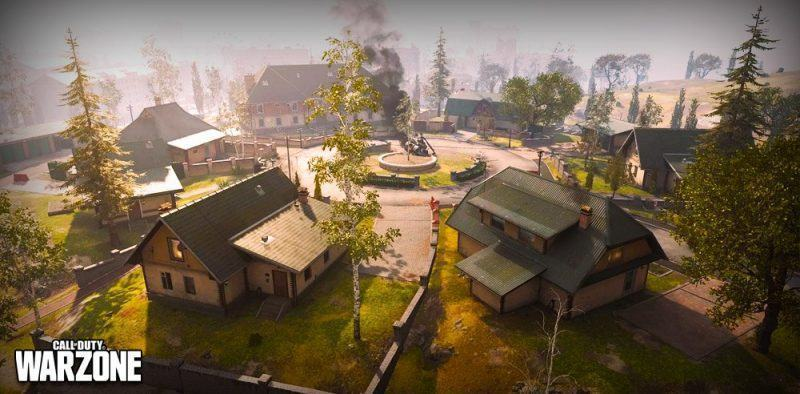 Lanciarsi Novi Grazna Hills Warzone