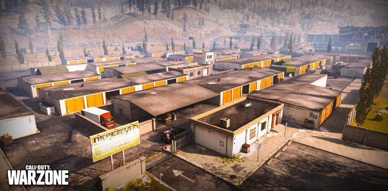 Paracadutarsi Storage Town Warzone
