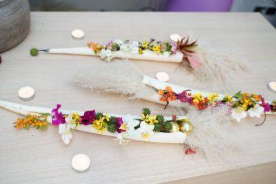 Composizione Orchidea Staff 1