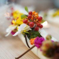 Orchidea Staff: come preparare composizioni floreali da tavola
