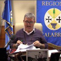 Calabria zona arancione, Spirlì: 'Riprendono attività ambulatoriali'