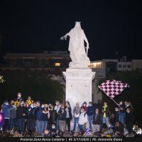 Protesta Zona Rossa Calabria