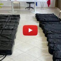 Dal Cile alla Calabria, ecco come viaggiava la cocaina sequestrata a Gioia Tauro
