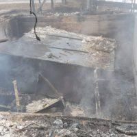 Gambarie, distrutta da un incendio la stazione d'arrivo di una seggiovia