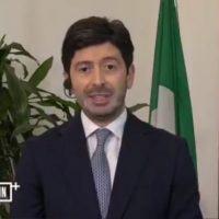 Il Ministro Speranza sul video di Zuccatelli: 'Non può cancellare 30 anni di carriera'