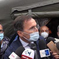 Emergenza Covid: sopralluogo di Spirlì e Boccia a Cosenza