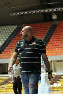 Coach Domenico Bolignano Pallacanestro Viola