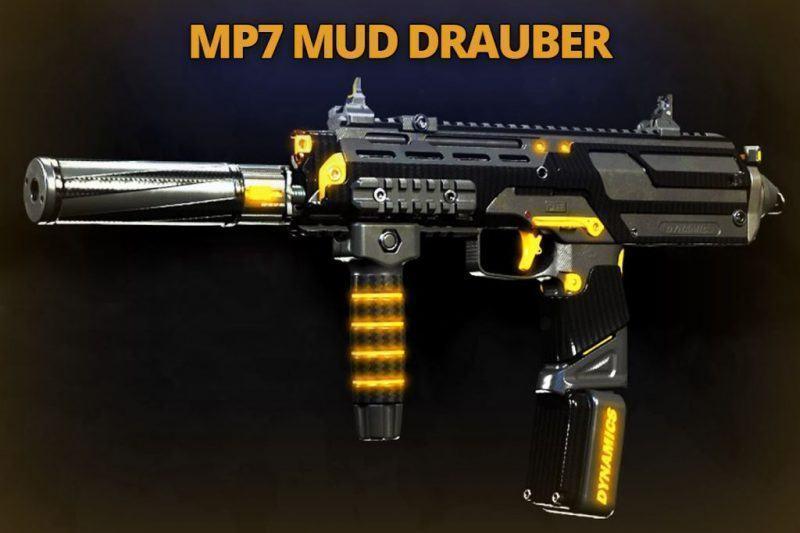 Warzone Bunker 11 Mp7 Mud Drauber